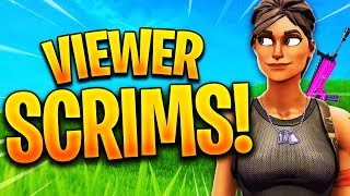 🔴 *NUEVO* FORTNITE CUSTOM SCRIMS Con SUBS! FORTNITE CUSTOM MATCHMAKING! (El ganador obtiene un SHOUTOUT)
