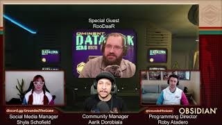 Casually Grounded Dev Stream E06 w/ Aarik, Shyla, Roby Atadero, and special guest RooDaaR!