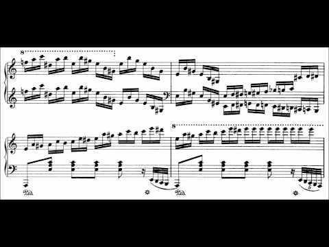 Franz Liszt - Etude S. 136 No. 2 (audio + sheet music)
