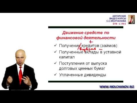 видео: 11.  Отчет о движении денежных средств
