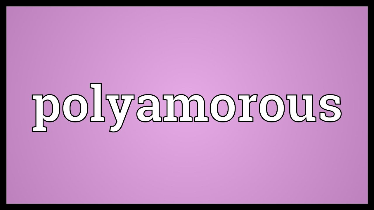 what does polyamorous mean