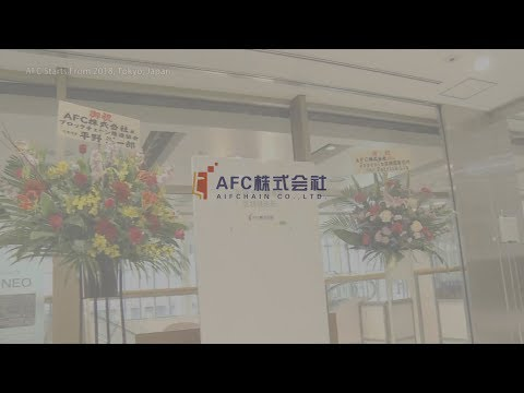 AFC Starts From 2018, Tokyo, Japan