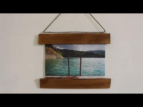 DIY Photo Frame With No Glass