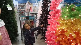 Christmas Decor Shopping! Our First Tree! | MOM VLOG