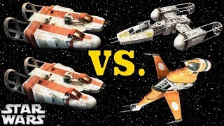 How the Rebel H-Wing Almost Replaced the Y-Wing and B-Wing (And Why It Didn't)