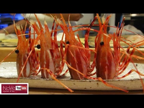 GRAPHIC: Live Shrimp Omakase - Shunji Japanese Cuisine