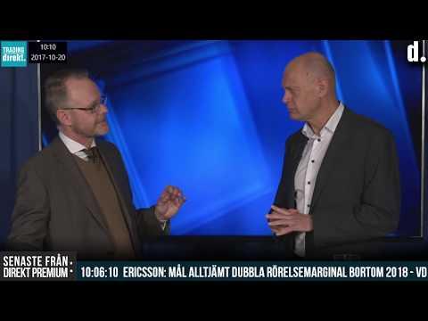 Trading Direkt 2017-10-20 Danske Banks Henrik Moberg om rapportperioden