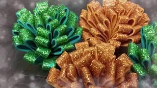 Flower using glitter sheet