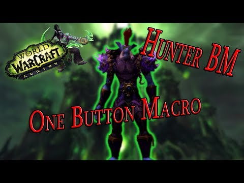 Hunter BM One Button Macro 1,5 Milioni Dps 7.3