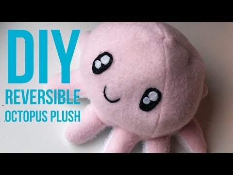 DIY Reversible Octopus Plush