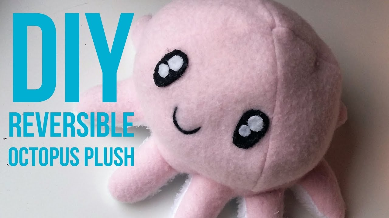 Diy octopus plushie instructables.