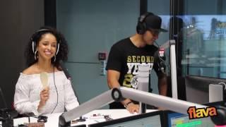Mýa sings Michael Jackson At (FLAVA Radio)