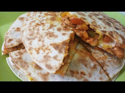 dîner-en-10-mn-:-tortillas-poulet/-fromage-facile-et-rapide!