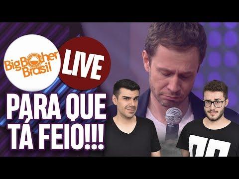 LIVE BBB 19: O POVO TÁ PEDINDO PRA GLOBO CANCELAR O PROGRAMA! | Virou Festa