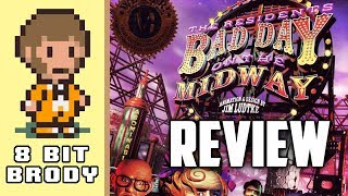 Bad Day on the Midway Review - This Game is Spooky |8 Bit Brody|