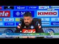 BRESCIA NAPOLI CONFERENZA STAMPA Di GATTUSO Quot Tra Champions Ed Europa League Scelgo Quot mp3