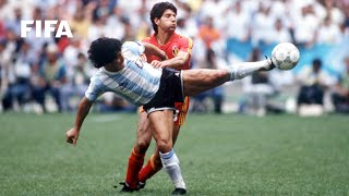 World Cup Highlights: Argentina - Belgium, Mexico 1986