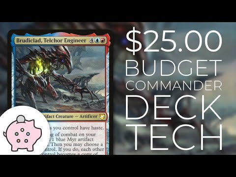 Brudiclad, Telchor Engineer | EDH Budget Deck Tech $25 | Tokens | Magic The Gathering | Commander