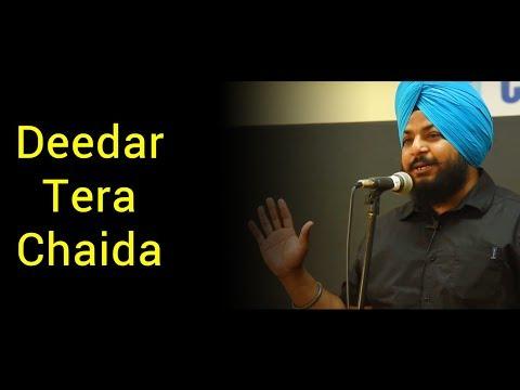 Punjabi Love Poem By Adeshvir Singh At Nojoto Open MIC CGC   Love Poem In Punjabi