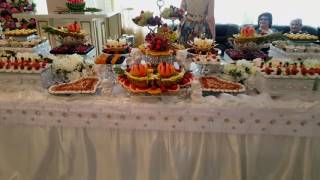 Свадебный фуршет и оформление  в Москве и М.О .От Feya decor 89647033868