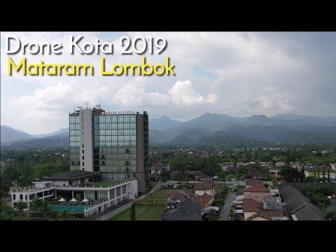 Lombok Drone View 2019, Mataram City