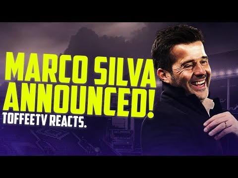 BREAKING NEWS: Marco Silva Announced As Everton Manager