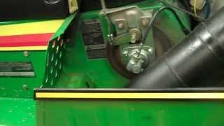 1978 John Deere spitfire Snowmobile Restored