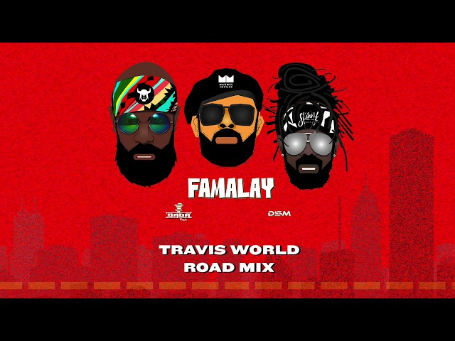 Famalay - Travis World Road Mix (Official Audio) | Skinny x Machel x Bunji | Soca 2019
