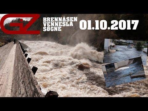 FLOM PÅ SØRLANDET // 01.10.2017 // BRENNÅSEN, VENNESLA OG SØGNE