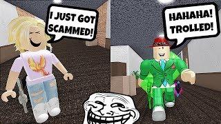 Fake Trading Trolling (Roblox Murder Mystery 2 Trolling)