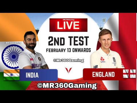 IND VS ENG | 2nd Test | Day 3 | Eng tour of ind 2021 | Cricket live streaming | Cricket 19 PS4