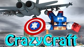 "Minecraft | CrazyCraft 2.0 - OreSpawn Modded Survival Ep 121 - ""CAPTAIN AMERICA"""