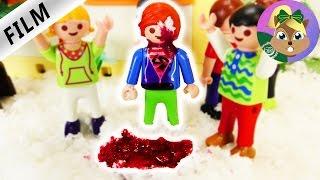 قصة جديدة من بلايموبيل و اصابة جوليان فى عينة من اللعب بكور الثلج و حلقة جديدة من عائلة الطيور