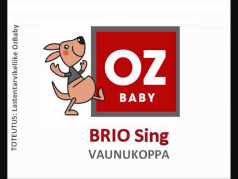 Yhdistelmävaunut BRIO Sing vaunukoppa