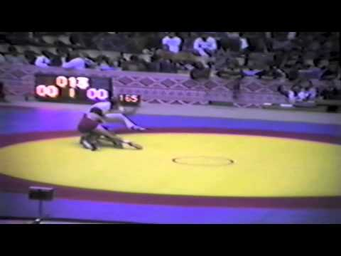 1983 Senior World Championships: 62 kg Bob Robinson (CAN) vs. Manuel Jimenez (ESP)