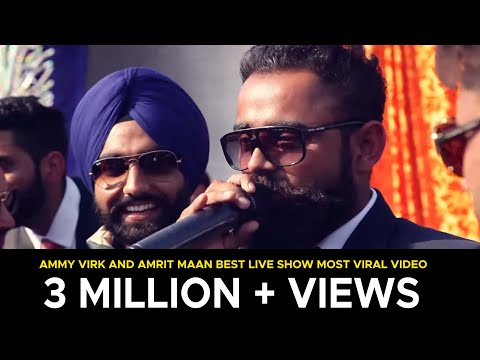 Amrit Maan , Ammy Virk & Jazzy B Latest Live 2017 | Awesome Perfomance | Creative Cut