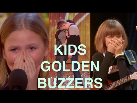 The Best Top 5 AMAZING Kids Golden Buzzers
