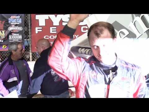 Williams Grove Speedway 410 & URC 360 Sprint Car Victory Lane 6-2-2017