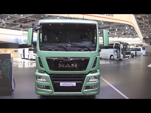 MAN EMobility Electric Tractor Truck Exterior And Interior