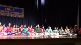 3. Dudukugala  at Sruti Thyagaraja day 2013
