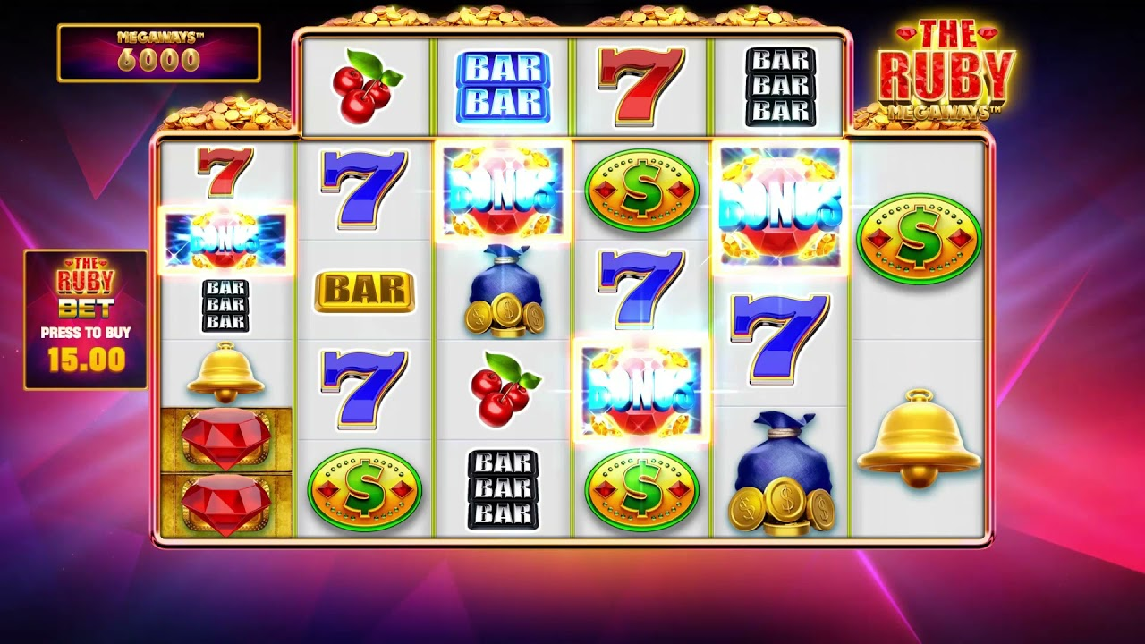 The Ruby Megaways  Slot Play Free ▷ RTP 96.9% & High Volatility video preview