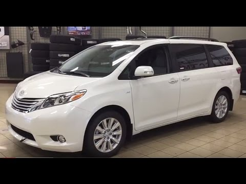 2017 toyota sienna limited awd review youtube. Black Bedroom Furniture Sets. Home Design Ideas