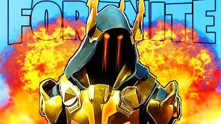 GOLD ICE KING = EASY WINS FORTNITE SEASON 7 GOLD ICE KING GAMEPLAY TIER 100 Battle Pass Season 7!