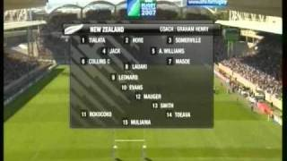 WORLD CUP FRANCE 2007 New Zealand VS Portugal Lyon Part 1