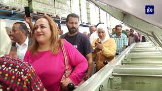 وزير الزراعة يفتتح موسم الزيتون في المعصرة الذهبية في لواء بني كنانة - (17-10-2019)