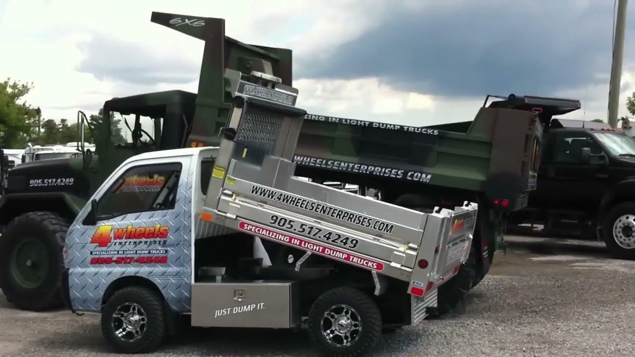 1992 Suzuki Carry Mini Dump Truck 4x4  Peter Baldin 01:00 HD