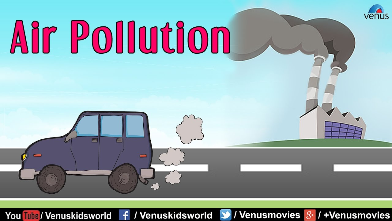 Electric Kids Cars >> Air Pollution Cartoon For Kids | www.pixshark.com - Images Galleries With A Bite!