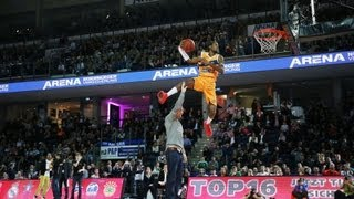 beko bbl 2013 slam dunk contest jus fly in the house all star game germany