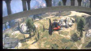GTA V Spaceship part 44 bridge piece