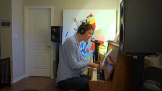 Me singing Raindrops Keep Falling on my Head with piano (Geoff Peters from Vancouver Canada)